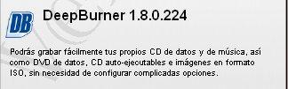 DEP BURNER PORTABLE-- Quemador Bur10