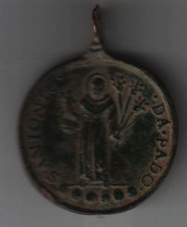 Médaille St-Antoine-de-Padoue - XVIIème A320