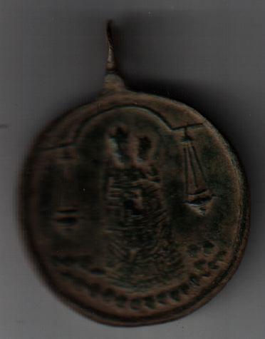 Médaille St-Antoine-de-Padoue - XVIIème A416