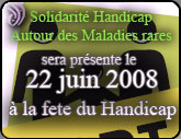"""HANDICAP et CITOYENNETE """"Tous solidaires à Chamarande """" Chamar11"""