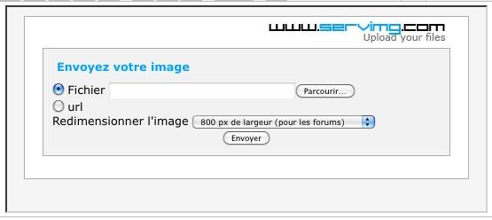Comment mettre des photos sur le forum.... Screen19
