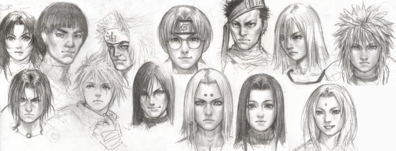 Personagens da Série Naruto com Traços Humanos _by_id10