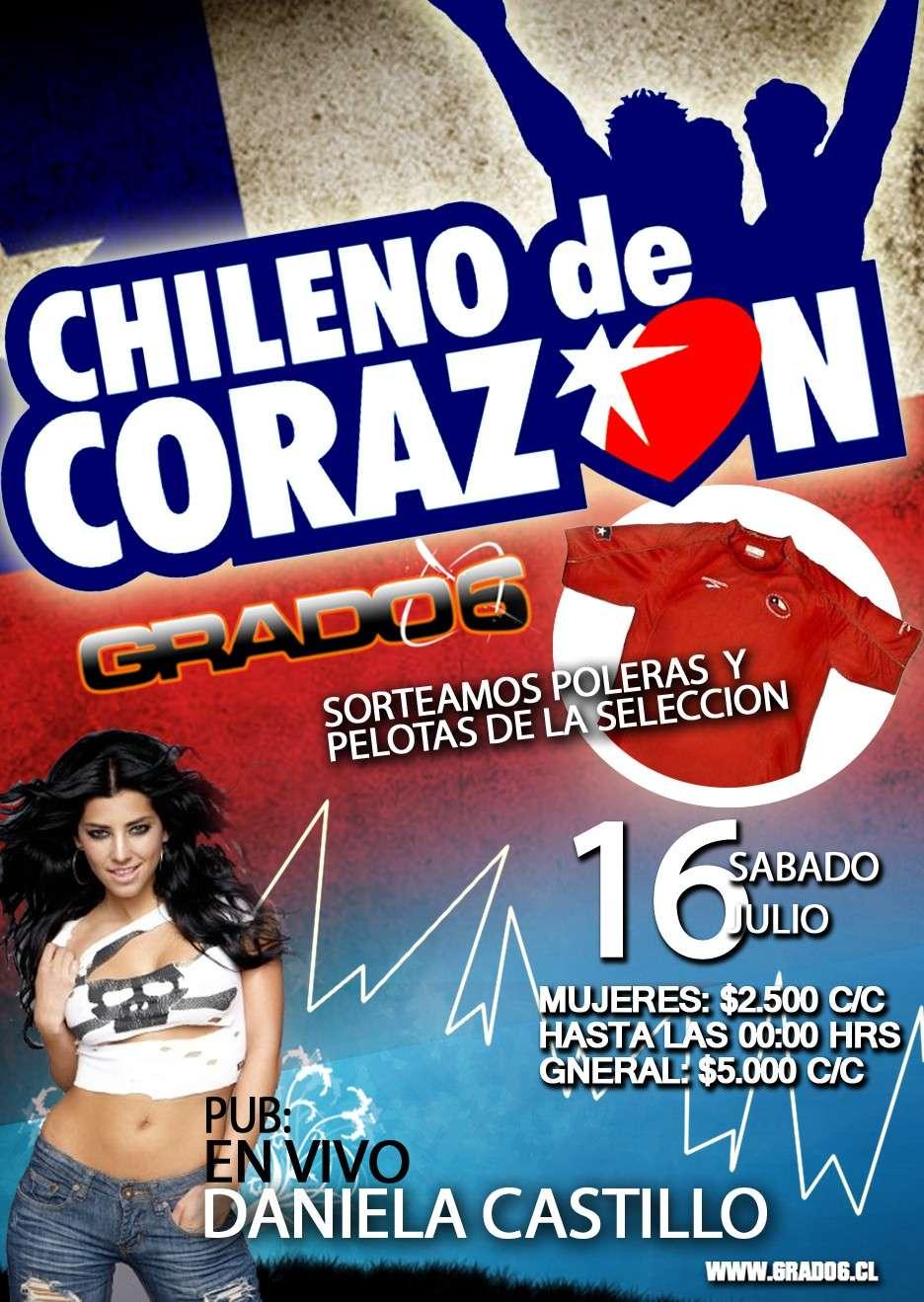 Daniela el 16 Julio en disco Grado 6 de Curicó Sabado10