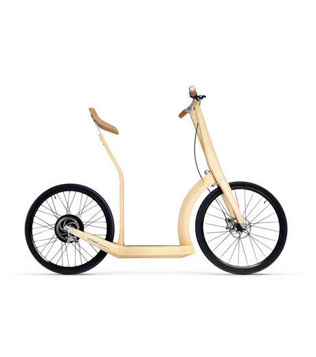 T2o, la trottinette électrique en bamboo T2o-la10