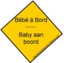 Sticker Bébé à Bord - Baby aan boord Sticke11
