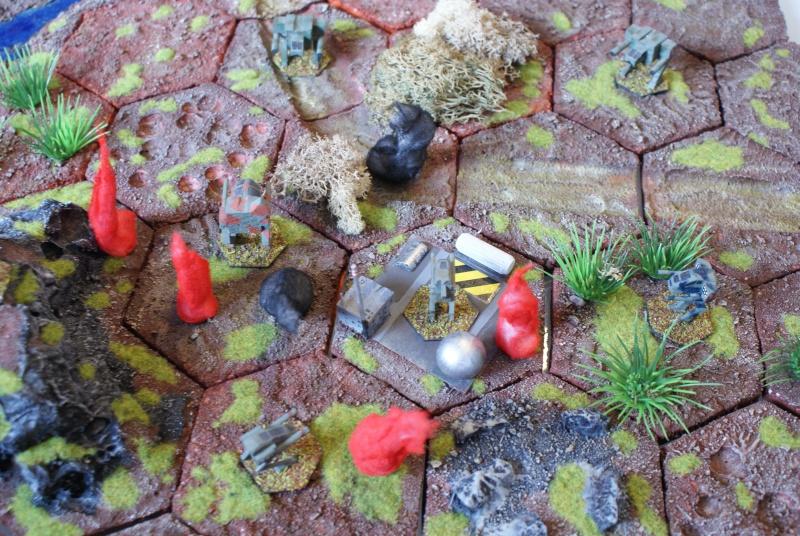 Hexagones 3D faits maison Dsc08810