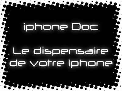 Le logo iPhoneDoc par Mad-74 ! Iphone10