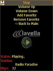 Lavella MobileRadio V1.02 Java Scr00010
