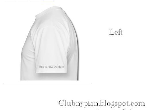 Club Nypian Shirt Design Suggestion Left11
