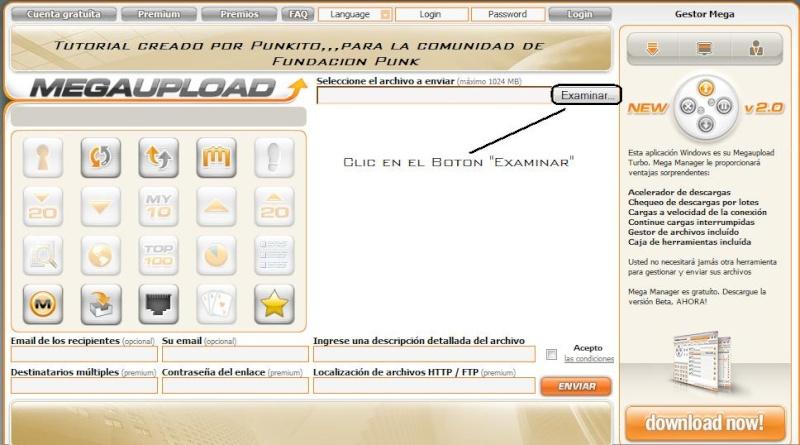 Tutorial Como Subir Archivos a Megaupload... Tuto_m11