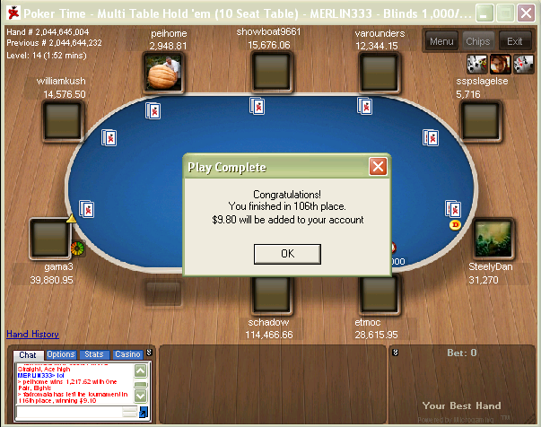 $7,000 Freeroll At PokerTime Game_p10