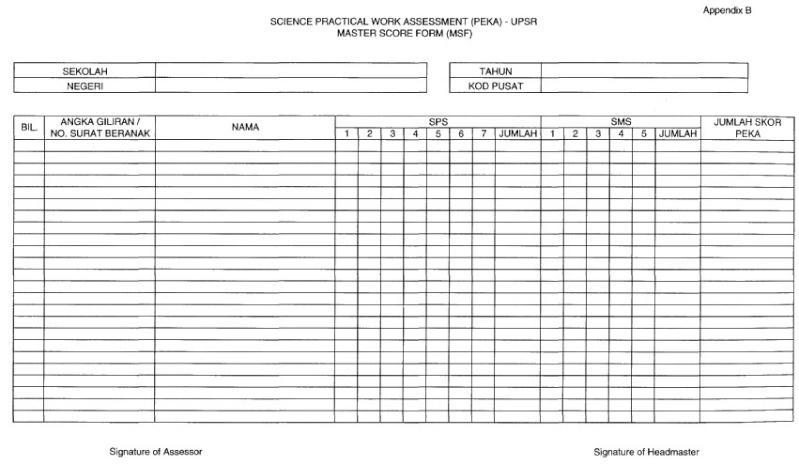 Program PEKA (Penilaian Kerja Amali Sains) Master10