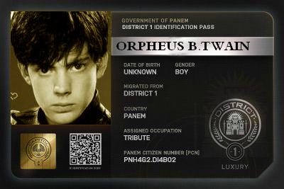 TWAIN Orpheus B.-1-Mort M_112