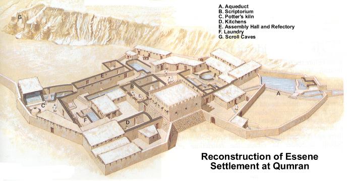 Les lieux sacrés - Héritage spirituel du Monde. - Page 2 Qumran14