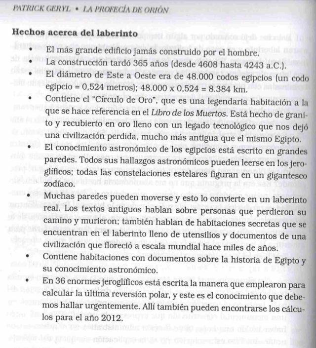 LA PROFECIA DE ORION - Què Ocurrirà Realmente en el 2012 Laberi12