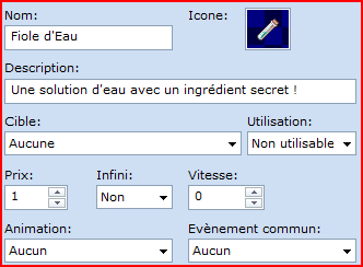 Système de craft (version simple) Reacti10