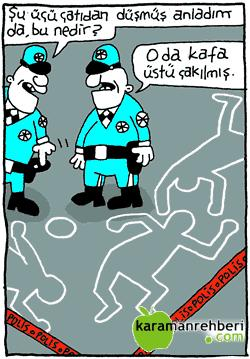 KARİKATÜRLER.. Polis11