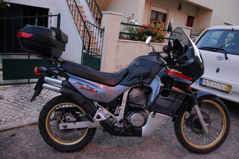 Old School Transalp XL 600V 111