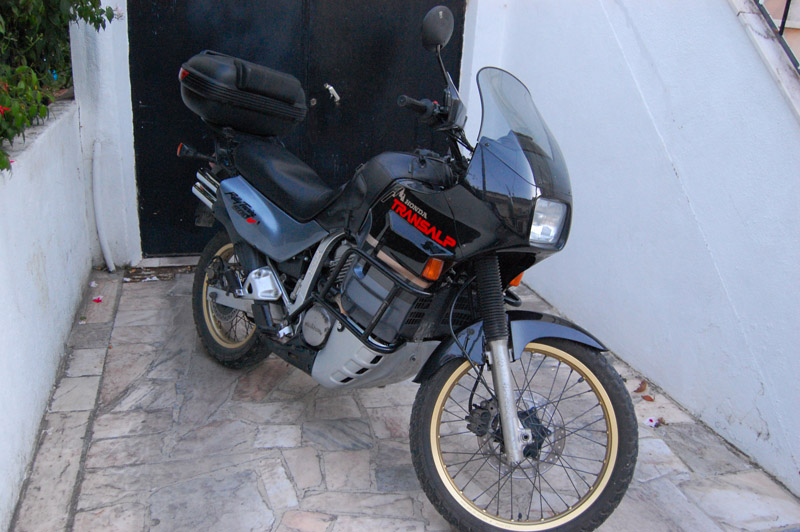 Old School Transalp XL 600V 310