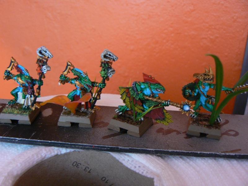 Peinture Hommes Lézards P1090615