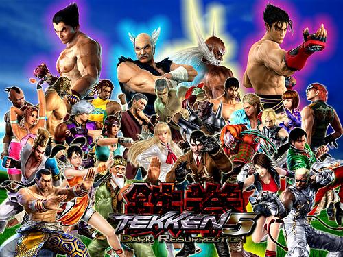 Tekken Dark Resurrection Players United