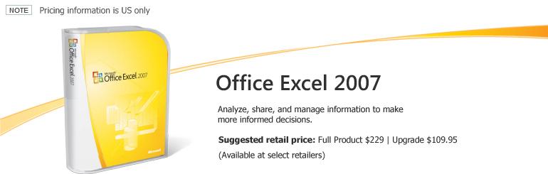 هديتى لكم بمناسبة الإشراف .. Microsoft Office System 2007 SP1 .. سعره يزيد على 8000 دولار أمريكى !! M_exce10