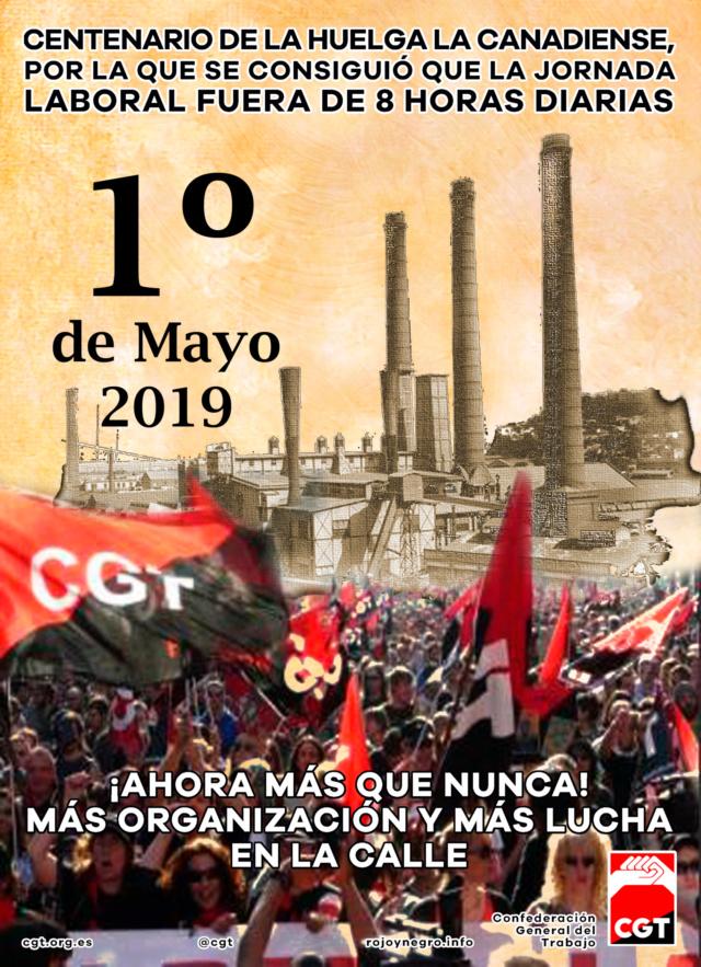 1 de Mayo: Viva la lucha de la clase obrera Cartel11