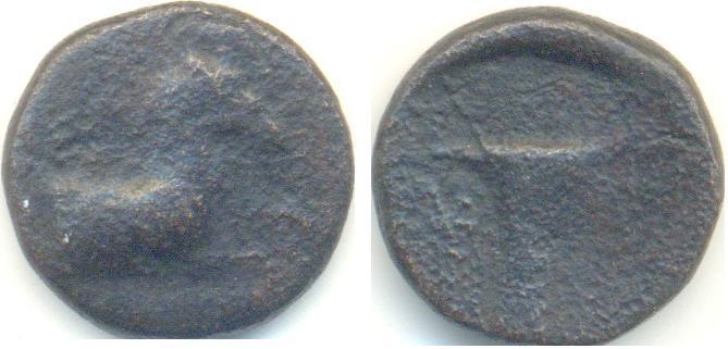 Bronce Griego de Cyme, S. IV a.C. 206g210