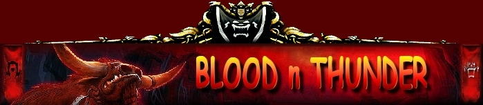 BLOOD N THUNDER