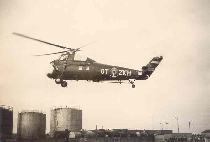Sikorsky H-34 Arrive11