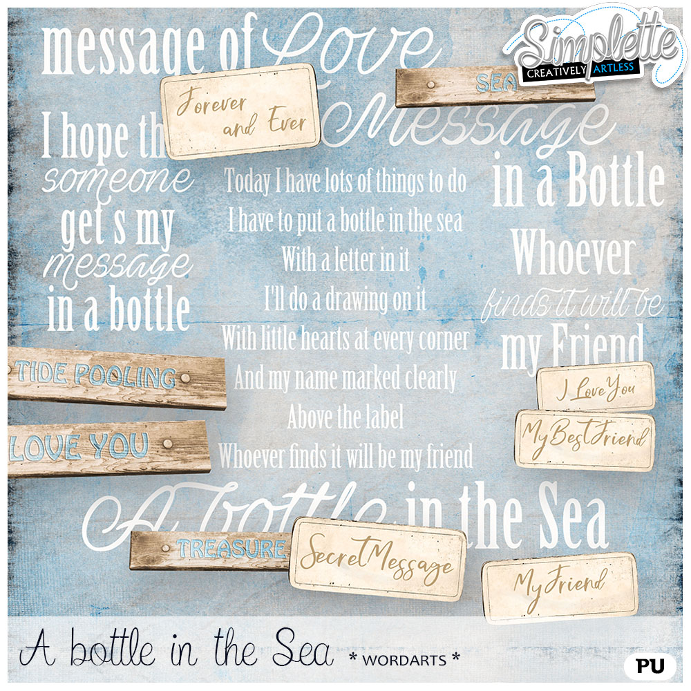 13 avril : A bottle in the Sea Simpl292