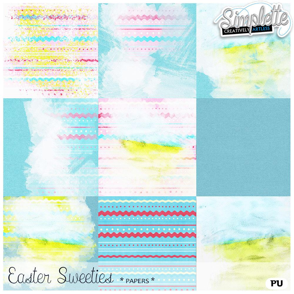 17 avril : Easter Sweeties Simpl297