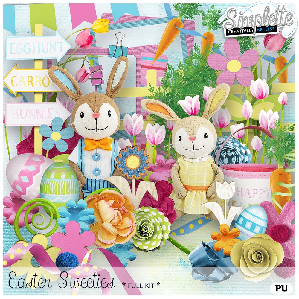17 avril : Easter Sweeties Simpl298