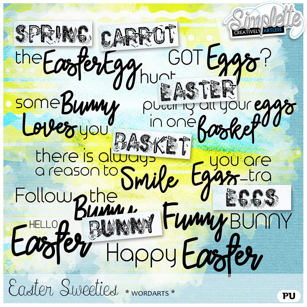 17 avril : Easter Sweeties Simpl299