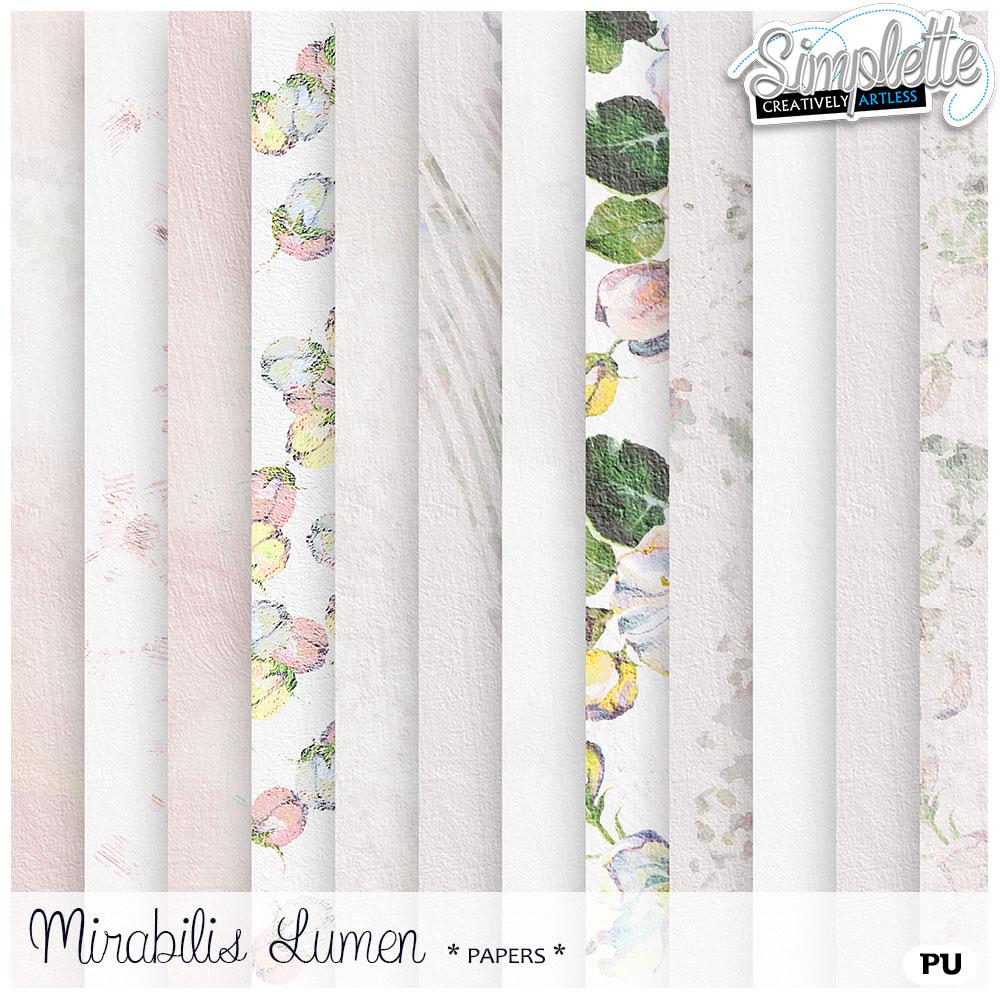 27 avril : Mirabilis Lumen Simpl308