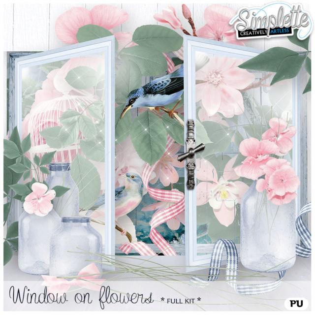 18 Mai : Window on Flowers Simpl337