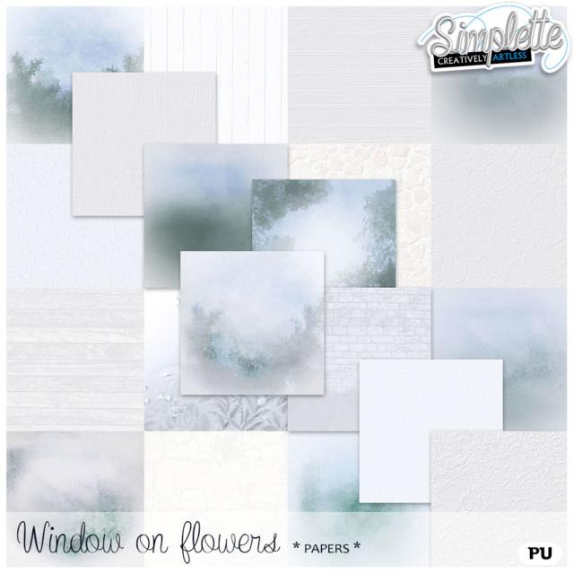 18 Mai : Window on Flowers Simpl338