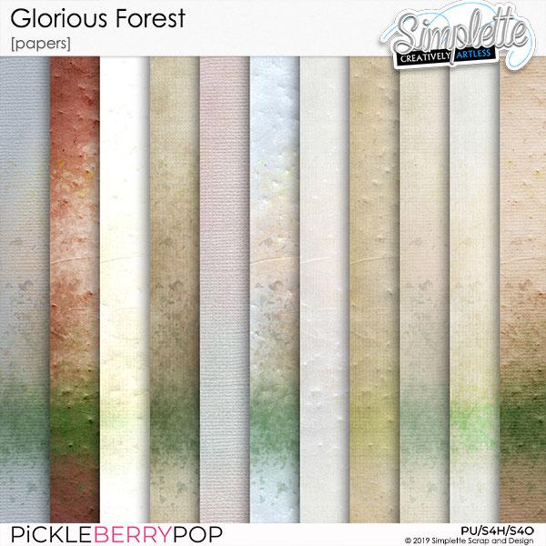 3 décembre : Glorious Forest Simpl557
