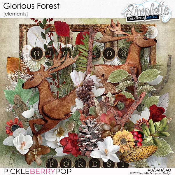 3 décembre : Glorious Forest Simpl558