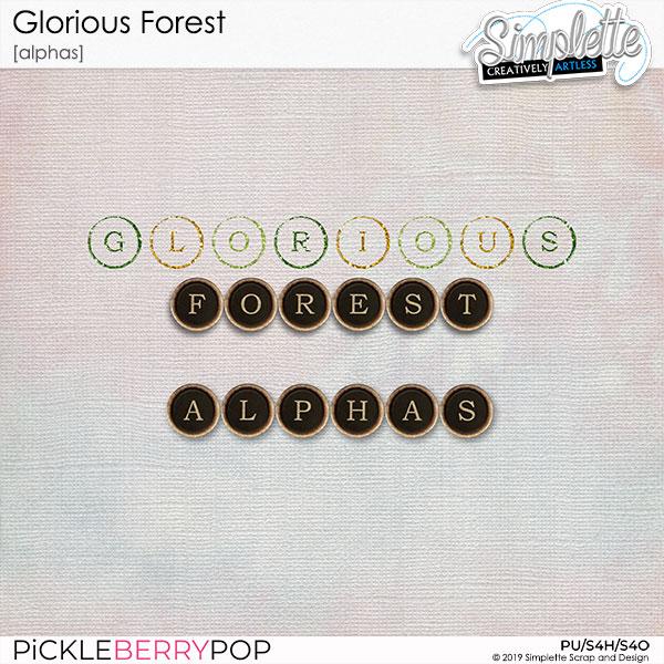 3 décembre : Glorious Forest Simpl560