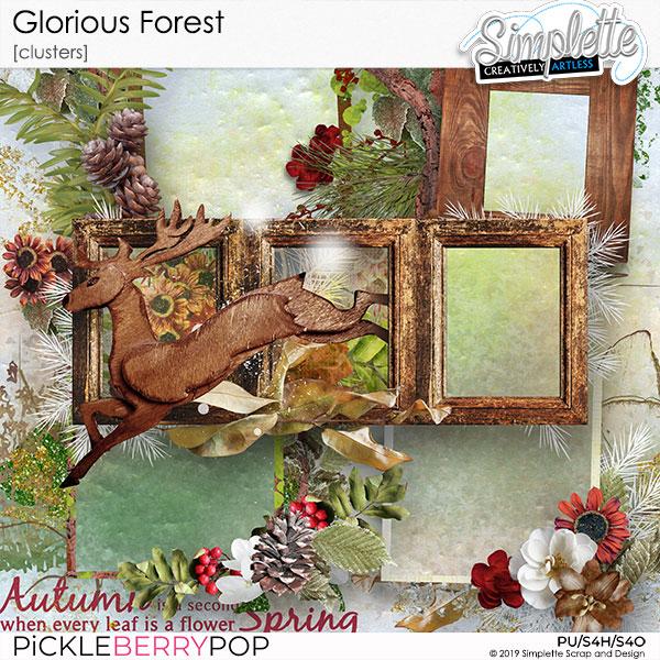 3 décembre : Glorious Forest Simpl562