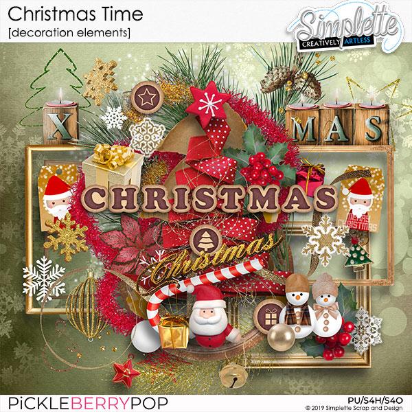 10 décembre : Christmas Time Simpl565