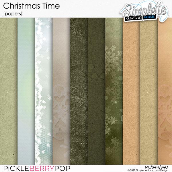 10 décembre : Christmas Time Simpl567