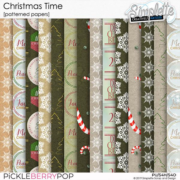 10 décembre : Christmas Time Simpl568