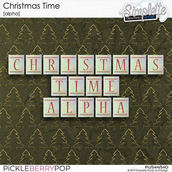 10 décembre : Christmas Time Simpl569