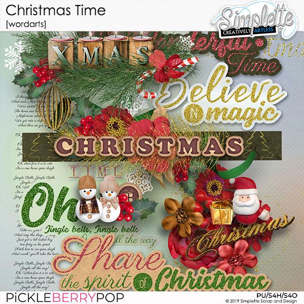 10 décembre : Christmas Time Simpl572
