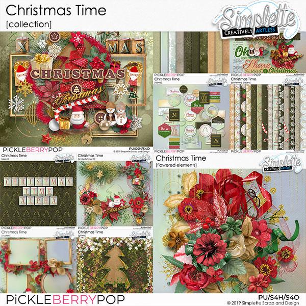 10 décembre : Christmas Time Simpl573