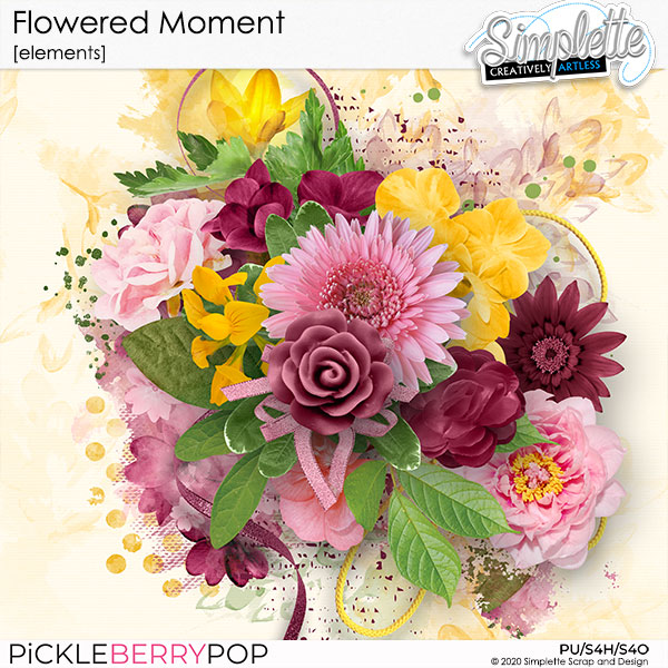 24 mars : Flowered Moment Simpl722