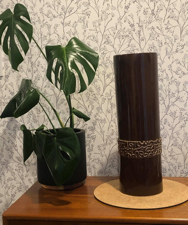 Shape 2080 Large Rose Convention Vase (Pipe) and Berin Spiro vase 2080_l10