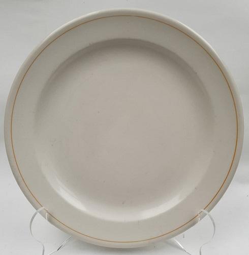 730 Vitrified Rimmed Dinner Plate 73010